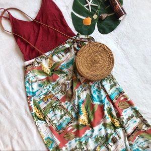Hilo Hattie Hawaiian Wrap Skirt